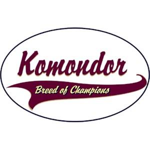 Komondor T-Shirt - Breed of Champions