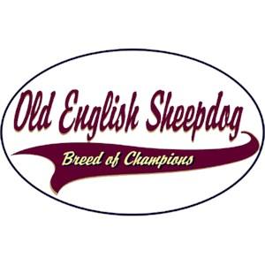 Old English Sheepdog T-Shirt - Breed of Champions