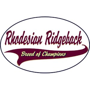 Rhodesian Ridgeback T-Shirt - Breed of Champions
