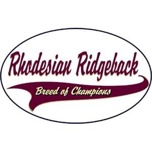 Rhodesian Ridgeback T-Shirt - Breed of Champions