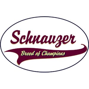 Schnauzer T-Shirt - Breed of Champions