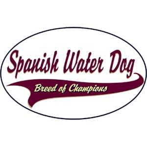 Spanish Water Dog T-Shirt - Breed of Champions