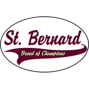 Saint Bernard T-Shirt - Breed of Champions