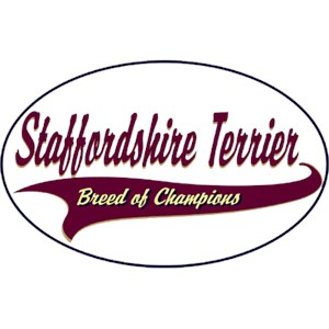 American Staffordshire Terrier T-Shirt - Breed of Champions