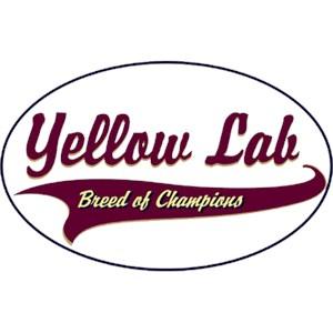 Yellow Lab T-Shirt - Breed of Champions