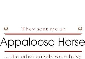 Appaloosa Horse T-Shirt - Other Angels