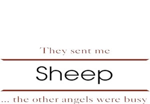 Sheep T-Shirt - Other Angels