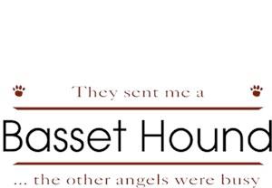 Basset Hound T-Shirt - Other Angels