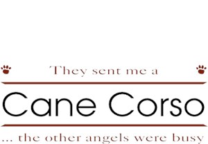 Cane Corso T-Shirt - Other Angels