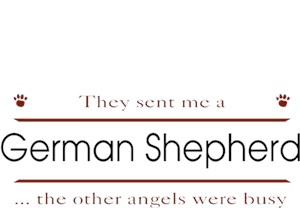 German Shepherd T-Shirt - Other Angels