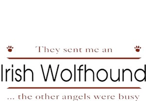 Irish Wolfhound T-Shirt - Other Angels