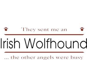 Irish Wolfhound T-Shirt - Other Angels