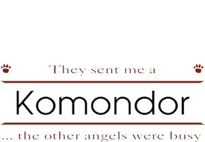 Komondor T-Shirt - Other Angels