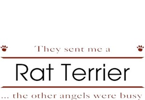Rat Terrier T-Shirt - Other Angels