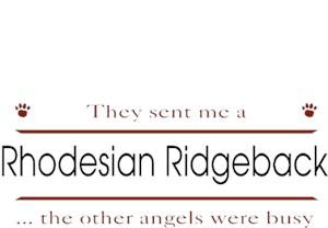 Rhodesian Ridgeback T-Shirt - Other Angels