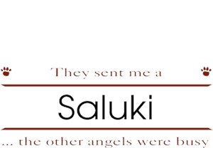 Saluki T-Shirt - Other Angels