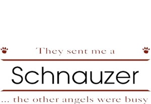 Schnauzer T-Shirt - Other Angels
