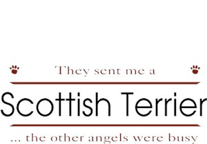 Scottish Terrier T-Shirt - Other Angels
