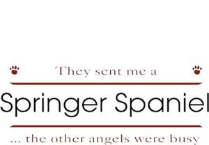 Springer Spaniel T-Shirt - Other Angels