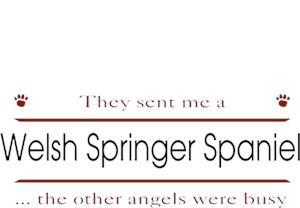 Welsh Springer Spaniel T-Shirt - Other Angels