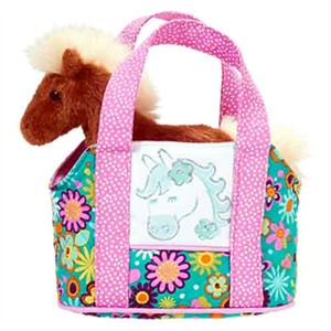 Brown Horse Purse