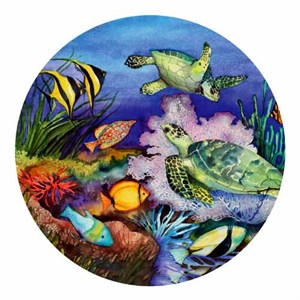 Sea Turtle Drink Coasters