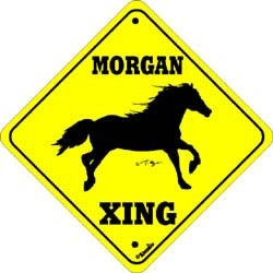 Morgan Horse Crossing
