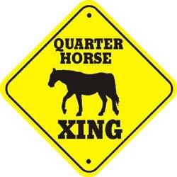 Quarter Horse Crossing