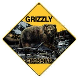 Grizzly Bear Sign