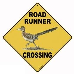 Roadrunner Sign