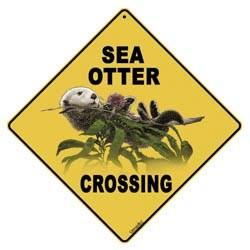 Sea Otter Sign