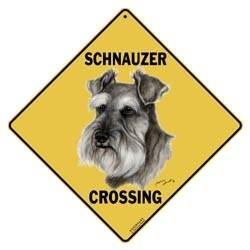Schnauzer Sign