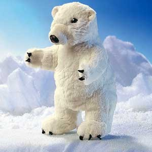 Polar Bear Puppet