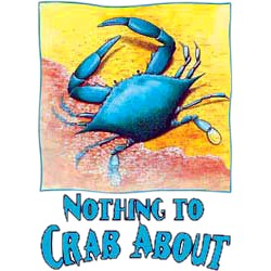 Crab T-Shirt - Nothing to Crab About