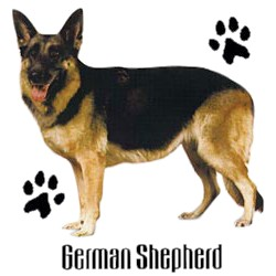 German Shepherd T-Shirt - Stylin With Paws