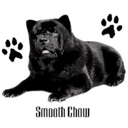 Chow Chow T-Shirt - Stylin With Paws Black
