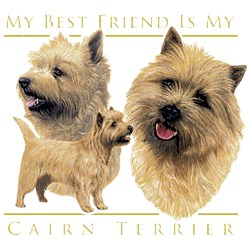 Cairn Terrier T-Shirt - My Best Friend Is
