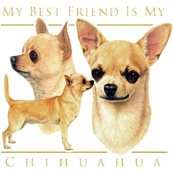 Chihuahua T-Shirt - My Best Friend Is