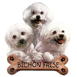 Bichon Frise T-Shirt - Trio of Three