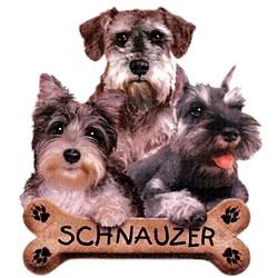 Schnauzer T-Shirt - Trio of Three