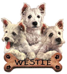 Westie T-Shirt - Trio of Three
