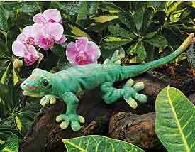 Gecko Puppet