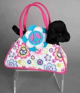 Black Lab Purse