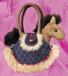 Buckskin Horse Purse