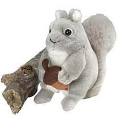 Gray Squirrel Plush