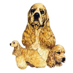 Cocker Spaniel T-Shirt - Best Friends