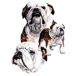 Bulldog T-Shirt - Best Friends
