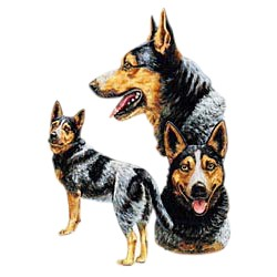 Blue Heeler T-Shirt - Best Friends