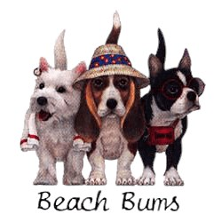 Beagle T-Shirt - Beach Bums