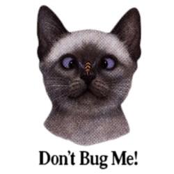 Cat T-Shirt - Dont Bug Me
